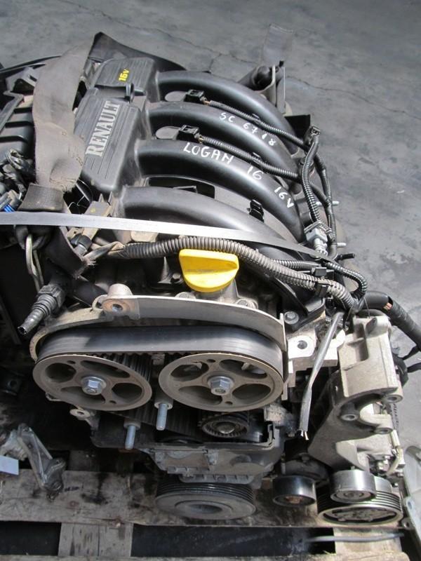 Motor Dacia Logan 1 6 16v 2008 Benzina Dezmembrari